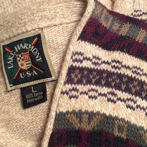 Lake Harmony U.S.A. Men's Sweater Vest Size L